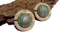 My polymer clay  creations - Earrings / Handmade polymer clay earrings