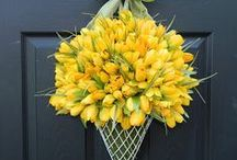 Spring wreaths for your door