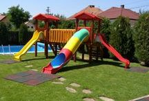 Slides, Swings, Play yards / We are the leading producer of playground equipment. We produce: slides, swings, carousels, climbers. outdoor table tennis, outdoor fitness equipment, basketball hoops, tennis  boats, pools. Visit us: www.etopogane.ro