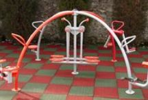 Outdoor fitness / We are the leading producer of playground equipment. We produce: slides, swings, carousels, climbers, outdoor table tennis, outdoor fitness equipment, basketball hoops, tennis boats, pools.