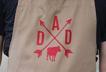 Father's Day HTV Inspiration / Celebrate Dad with a custom tshirt, apron, or hat. Find all kinds of Heat Transfer Vinyl ideas and free cut files here. It's easy to create unique gifts of great quality when you use Siser heat transfer materials. See all your HTV options here http://www.siserna.com/heat-transfer-vinyl. Keep up with all our innovative crafts on our blog at siserblog.com