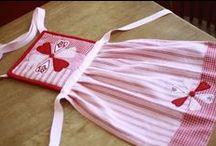 *AVENTAIS INFANTIS (ARTESANATO) CHILDREN'S APRONS (DIY) / http://patyshibuya.com.br/category/aventais-infantis/