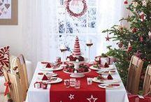 *NATAL: MESA DECORADA PARA O NATAL (DECORATED TABLE FOR CHRISTMAS) / http://patyshibuya.com.br/mesa-decorada-para-o-natal/