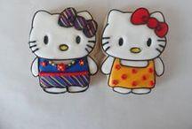 *HELLO KITTY (COOKIES) / http://patyshibuya.com.br/category/hello-kitty-cookies/