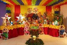*ALVIN E OS ESQUILOS (FESTA) ALVIN AND THE CHIPMUNKS (PARTY) / http://patyshibuya.com.br/category/alvin-e-os-esquilos-festa/