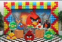 *ANGRY BIRDS (FESTA) PARTY / http://patyshibuya.com.br/category/angry-birds-festa/