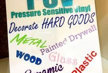 EasyPSV™ (adhesive vinyl) Ideas / EasyPSV™ by Siser® is an adhesive vinyl that can be cut with popular craft cutters an applied to all kinds of hard surfaces with the help of pressure applied from a squeegee. From large scale projects to home made crafts, EasyPSV has you covered! Learn more at --> http://www.siserna.com/easypsv/