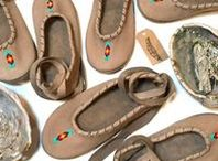LL Designs MoccFlats / 100% Handmade comfort mocc-flats. A Plains-style construction, designed like a flat or mary-jane style.