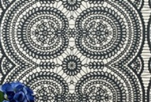 Design Trend: Lace Lace and more Lace / by Crown Wallpaper & Fabrics