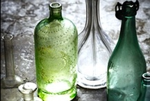 BOTTLES, JARS, GLASS, OH MY  / by Michelle ☀ Guth