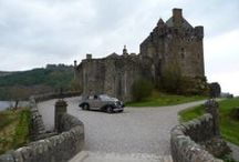 Weddings in Scotland / Beautiful cars, places , venues and castles..... Yes you can get married anywhere in Scotland