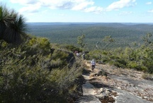 Map 1 - Kalamunda to North Bannister / The first leg on the Bibbulmun Track North to South