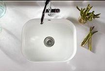 Integrity Sink  / The Integrity Sink is an innovative design intended to incorporate all of the advantages of Silestone while offering complete unity, functionality and sophisticated style to any kitchen or bath project. The Integrity Sink is made from one piece of Silestone. The sink integrates perfectly the countertop providing unprecedented uniformity for kitchen design.