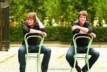 Fred&George Weasley / Gred&Forge, some of the best characters in HP