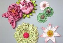 Folded flower