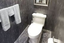 Contemporary Bathrooms / Contemporary bathroom design and decor to inspire any bathroom remodel!