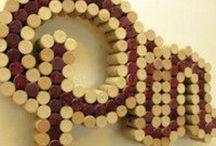 Cork letters / Cork letters / by Manicura Creativa