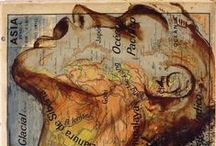 art (&) maps / #map #maps #art #cartography #illustrations #paintings