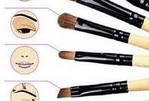 Pinceaux maquillage et utilisation / Accessoires beauté