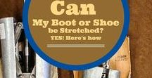 All about Shoe Care and Repair / Helpful blogposts about boot and shoe care