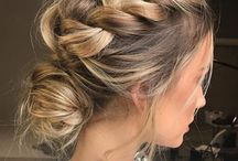 Tresses inspiration / Idées de coiffures avec des tresses