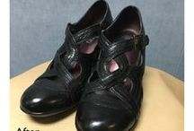 Shoe Repair / Repairs done by Cobblers at Boyer's BootnShoe. Before and after pictures