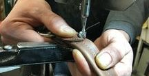 Clothing and Leather Repair / Work we've done on jeans, purses, coats and other odds and ends