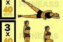 RAFFERMIR BAS DU CORPS / Exercices, entraînements et conseils nutrition pour affiner et raffermir le bas du corps