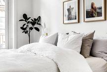BEDROOM INSPIRATION & DECO / Idées d'agencement et décoration chambre à coucher