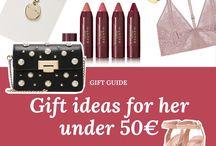 Idées cadeaux  / Idées de cadeaux de Noël pour petits et moyens budgets