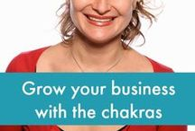 A woman loves the chakras / A place to learn more about the chakras and to share the wisdom they've revealed to you.  And if you're keen to build your Business by the Chakras™ check out www.changethegameroadmap.com which takes you through the 7 stages of building a soulful business.