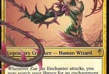 MtG Character Alters / Character alters on Magic: the Gathering cards by Black Wing Studios