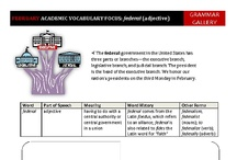 Academic Vocabulary / Worksheets to help middle school and high school students develop academic vocabulary.
