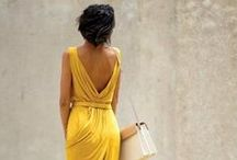 """Evening Dress :* / """"Elegance is not the perogative of those who have just escaped from adolescence, but of those who have already taken possession of their future."""" Coco Chanel"""