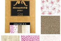 Serviettage et Papier Patch / Une sélection CréaPause de produits pour vos activités à base de vernis colle : Décopatch, serviettage et papier patch https://creapause.fr/156-decopatch-et-serviettage