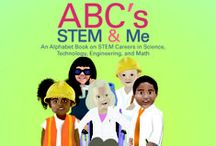 STEM - Library / Groovy Lab in a Box reading section features STEM - empowering books and magazines starring stellar STEM characters.  / by Groovy Lab in a Box