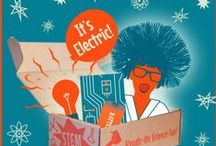"""STEM - """"It's Electric!"""" / Groovy Lab in a Box Engineering Design Challenge:  """"It's Electric!""""  If children are """"engineering"""" their very own original designs, then they are doing the """"E"""" in STEM. It's the application of their prior knowledge in science, mathematics, and utilization of technology that they apply in order to create! All children are natural """"STEMists!"""" / by Groovy Lab in a Box"""