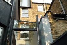 Glebe Road / Renovation of a five-story Victorian mid-terraced house in Crouch End, North London.