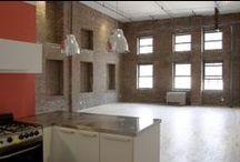 Brooklyn Lofts / Old, industrial warehouse conversion into modern loft apartments