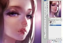 coloring/painting tutorial