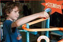"STEM - Roller Coasters ""What Goes Up"" / Do your STEMists love roller coasters and things that spin? This board is full of things that explain the forces behind your kids' favorite amusement park rides. / by Groovy Lab in a Box"