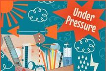 "STEM - Weather Station ""Under Pressure"" / Sunshine, rain, clouds, storms, hurricanes, wind - your STEMists have a natural fascination with weather! Weather impacts our every day - from what to wear outside to what crops come in from the fields. Here are fun weather-related pins for your STEMists. / by Groovy Lab in a Box"