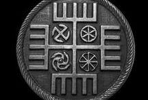Trypilla Трипiлля Trypole Slavic symbols / trypol trypole slavic Kultura trypolska kultura słowiańska