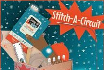 STEM Stitch-A-Circuit / Engineering Design Challenge:  You are a wearable technology engineer and an avid groovy reader. Using only the materials from your Groovy Lab in a Box, can you design and build an LED book light that doubles as a bookmark and a fashionable e-cuff? / by Groovy Lab in a Box