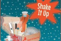 "STEM - Earthquakes ""Shake It Up"" / Engineering Design Challenge: You are a groovy earthquake engineer who has been contracted by the city of Los Angeles. Using only the materials from your Groovy Lab in a Box, can you design and build the tallest skyscraper that can withstand the next BIG quake? / by Groovy Lab in a Box"