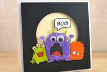 Halloween Cards/Tags/Items / Even though I don't *do* Halloween.....