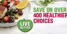Eat Better - Healthy Living. / Checkers offers a wide range of fresh products and delicious recipes to assist consumers in living a healthy lifestyle.  Eating healthy prevents future diseases such as diabetes and cancer etc. so its important to live a health lifestyle!