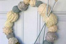 Ghirlande - Wreaths / Beautiful handmade wreaths, misc tecniques