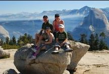 Exploring Yosemite / Examples of year round adventures that we offer.