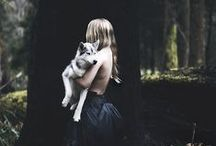 Tame the beast / When she looked into the eyes of an animal, she did not just see an animal. She saw a living being, a friend. She could feel a soul. She whispered to the creature and spoke of all her happenings.